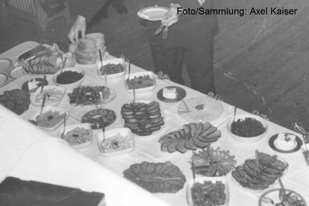 Bordfest ds MSR Hettstedt in der Zwiebel Buffet